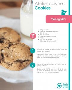 Fiche d'activité - Cookies au chocolat