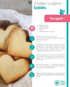 DIY - Atelier cuisine : sablés