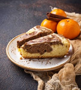 Recette - Gâteau marbré