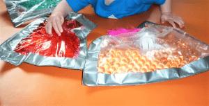 Pochettes sensorielles