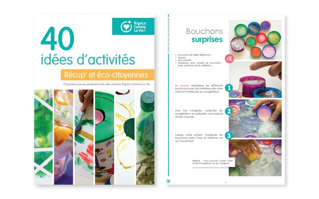 40 idées d'activités récup et éco-citoyennes