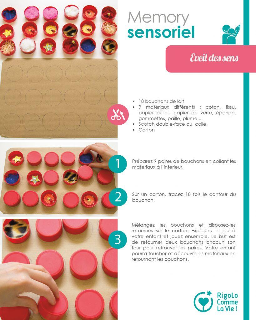Fiche - Memory sensoriel